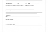 Accident Report Template Best Photos Of Incident Form regarding Incident Report Book Template