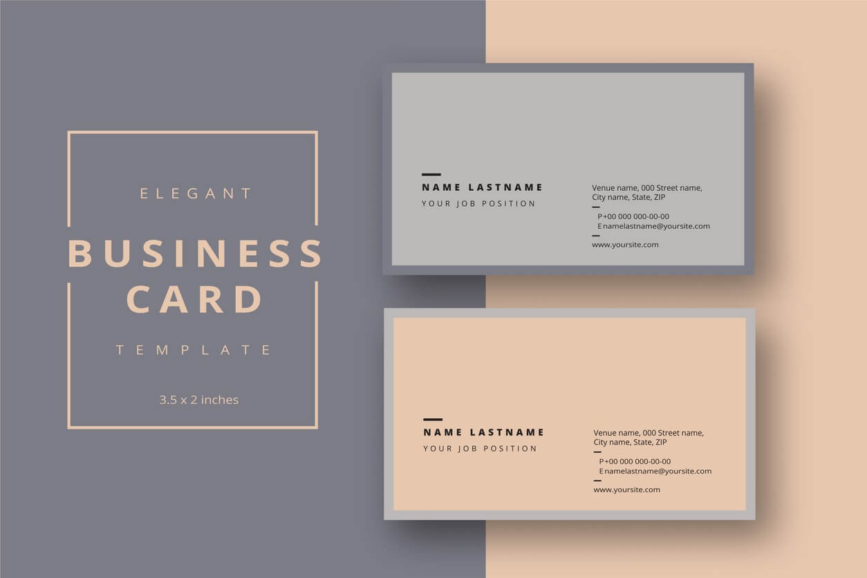 Add Your Logo To A Business Card Using Microsoft Word Or Within Word 2013 Business Card Template