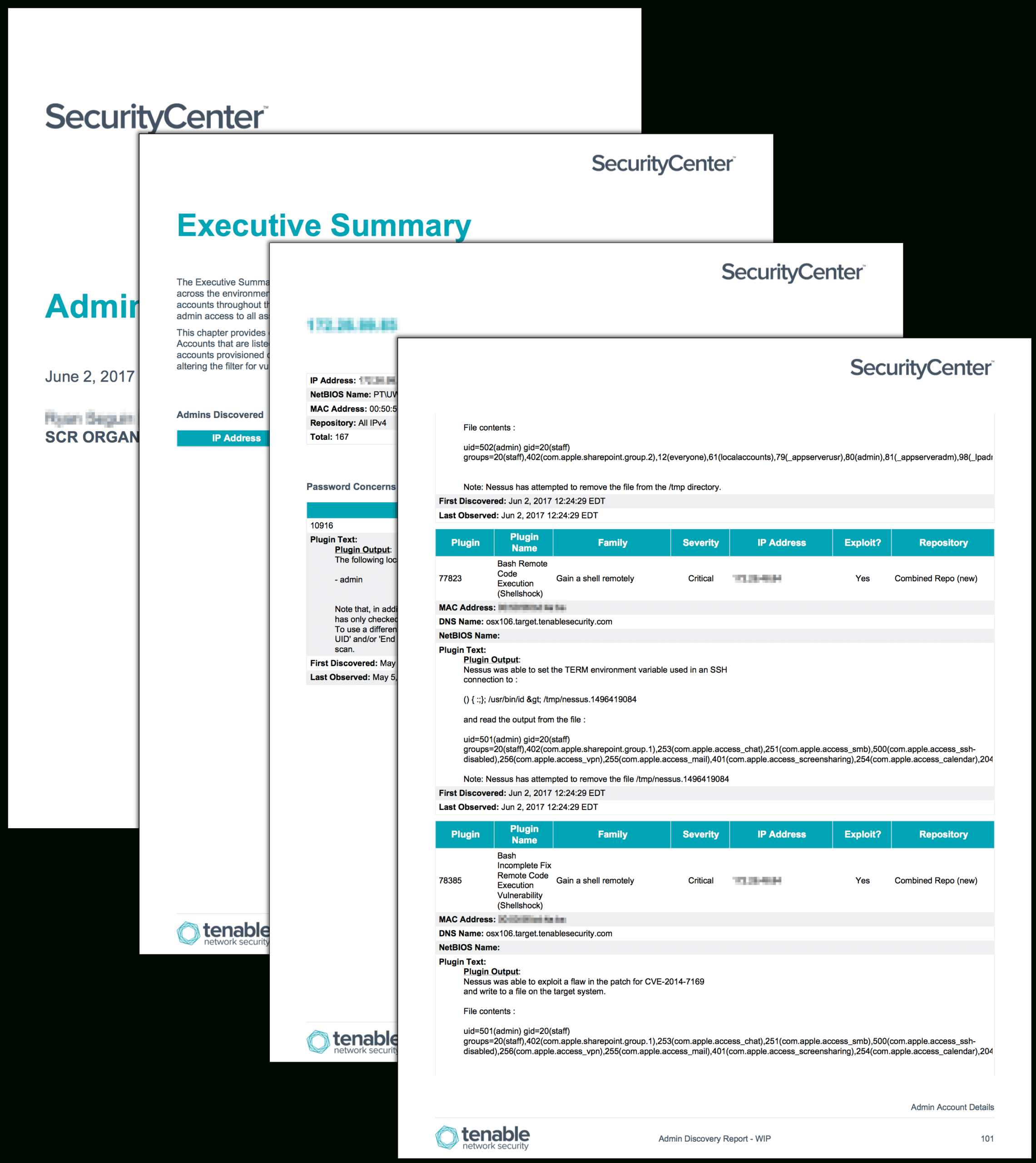 Admin Discovery Report – Sc Report Template | Tenable® Intended For Nessus Report Templates