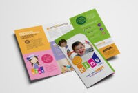 After School Care Tri-Fold Brochure Template In Psd, Ai with regard to Brochure Templates For School Project
