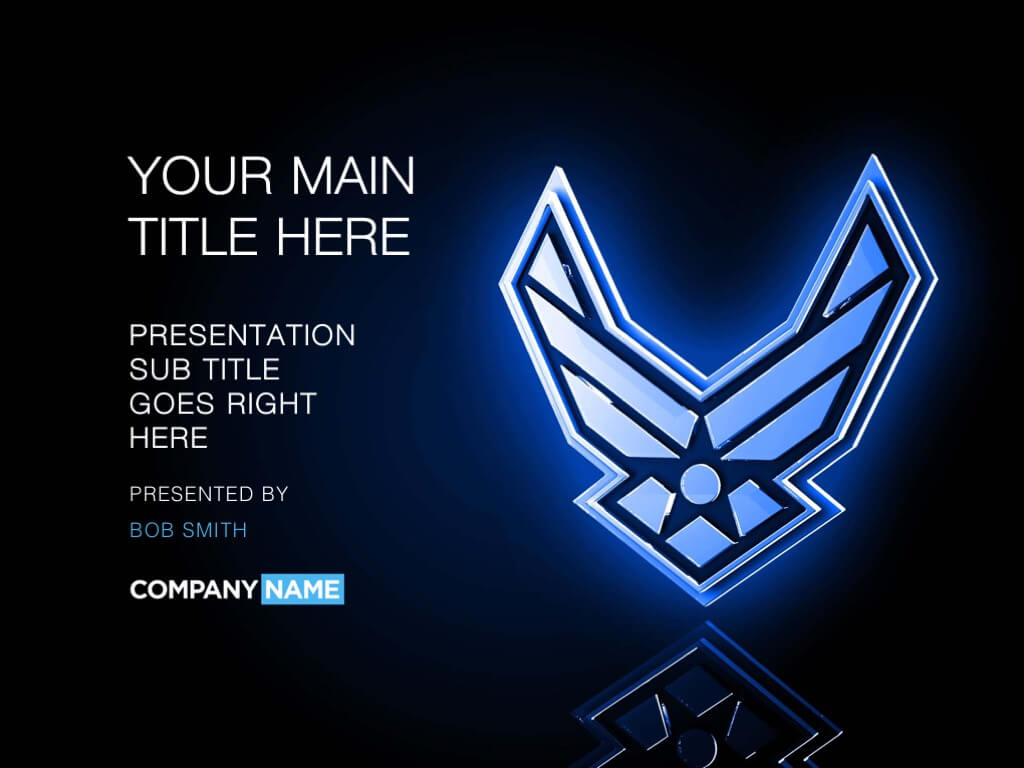 Air Force Powerpoint Template Designs – Trashedgraphics Pertaining To Air Force Powerpoint Template