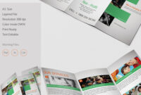 Amazing Non Profit A3 Tri Fold Brochure Template Download inside Tri Fold Brochure Template Indesign Free Download