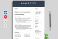 Anchor Resume Template Word Format – Resumekraft for How To Create A Cv Template In Word