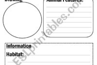 Animal Report Template – Esl Worksheetflora.m123 for Animal Report Template