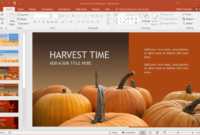Animated Harvest Powerpoint Template for Free Fall Powerpoint Templates