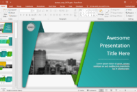 Animated Wrapping Shapes Powerpoint Template inside Replace Powerpoint Template