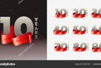 Anniversary Congratulation 3D Banner Template. Birthday Or regarding Congratulations Banner Template