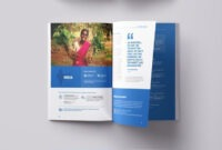 Annual #report Annual Report Template Doc Free Annual Report intended for Ngo Brochure Templates
