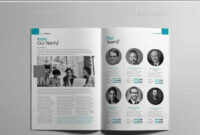 Annual Report Brochure Template Indesign Indd | Annual throughout Chairman's Annual Report Template