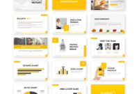 Annual Report Powerpoint Template – Free Presentations Throughout Annual Report Ppt Template