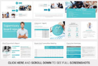 Annual Report Powerpoint Template Website Templates, Website within Reporting Website Templates