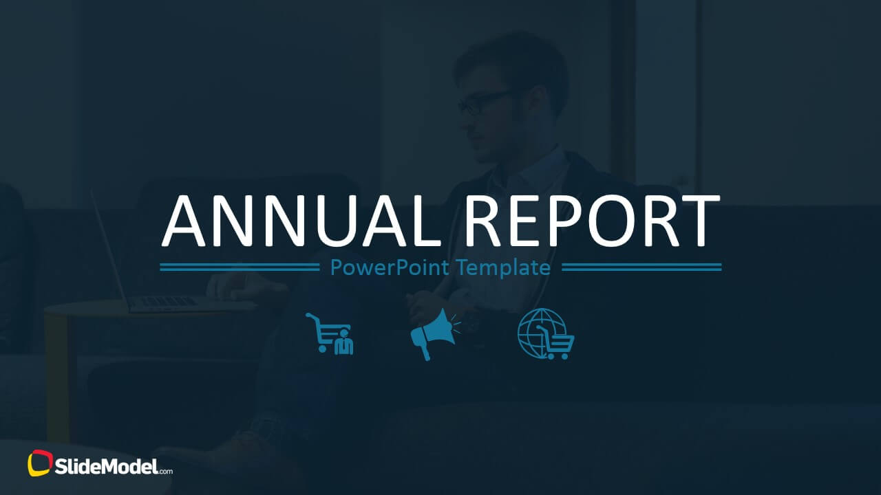 Annual Report Template For Powerpoint For Annual Report Ppt Template