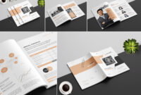 Annual Report Templateamal Kabichi On Dribbble intended for Annual Report Template Word