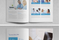 Another More Contemporary Booklet Design That Is Vertical. I for Medical Office Brochure Templates