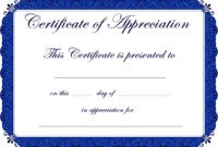 Appealing Award Template Word For Certificate Of in Free Funny Certificate Templates For Word
