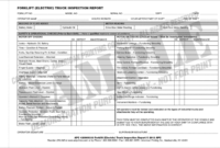 Archaicawful Daily Vehicle Inspection Report Template Ideas with Daily Inspection Report Template
