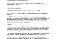 Army Memorandum For Leave | Templates At inside Army Memorandum Template Word