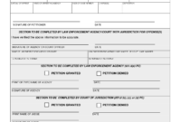 Arrest Record Template | Ca – Criminal – Petition To Seal intended for Autopsy Report Template