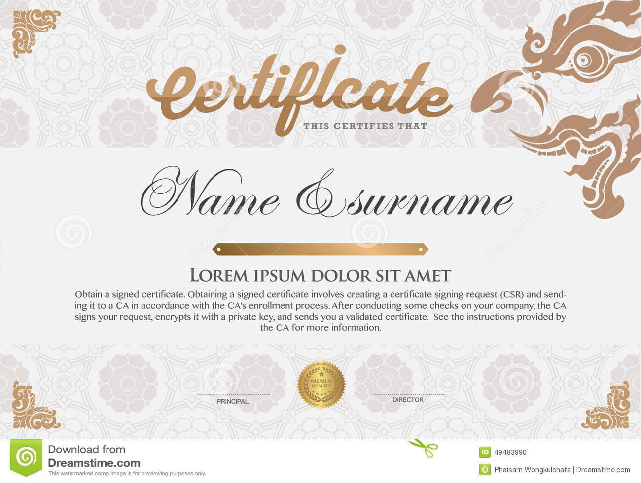 Art Certificate Template Free | Card To Card Apply Mcdonalds With Art Certificate Template Free