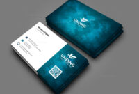 Aurora Professional Corporate Business Card Template 000927 intended for Buisness Card Templates