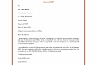 Authorization Letter Sample For Claiming – Claim intended for Certificate Of Authorization Template