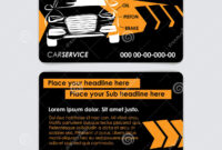 Auto Repair Business Card Template. Create Your Own Business in Automotive Business Card Templates