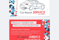 Automotive Service Business Card Template. Car Diagnostics intended for Transport Business Cards Templates Free