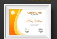 Award Certificate Template #73891 | Certificate Templates pertaining to Small Certificate Template