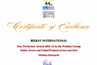 Award Certificate Templates You 39 Re A Star Award in Star Performer Certificate Templates