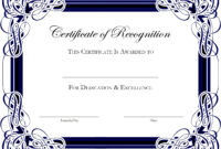 Award Templates For Microsoft Publisher   Besttemplate123 pertaining to Award Certificate Border Template