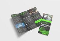 Awesome Business Tri Fold Brochure Design Template – 99Effects regarding Pop Up Brochure Template