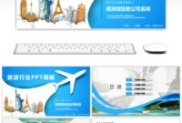 Awesome Overseas Holiday Tourism Dynamic Ppt Template For within Tourism Powerpoint Template