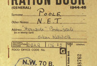 B952E5 Evacuee Label Template | Wiring Resources within World War 2 Identity Card Template