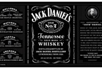 B9Fe6A7 Jack Daniels Label Template | Wiring Resources with regard to Blank Jack Daniels Label Template