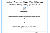 Baby Dedication Document-Sample1650-X-1275-84-Kb-Png-X for Baby Christening Certificate Template