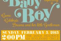 Baby Shower Invitation : Free Baby Shower Invitation Intended For Free Baby Shower Invitation Templates Microsoft Word