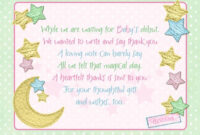 Baby Shower Thank You Cards For Your Guest | Baby Shower inside Template For Baby Shower Thank You Cards