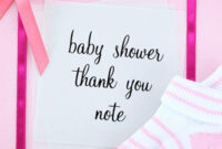 Baby Shower Thank You Notes: What To Write In A Thank You Card pertaining to Template For Baby Shower Thank You Cards