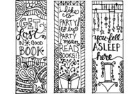 Back To School Kits   Free Printable Bookmarks, Printable pertaining to Free Blank Bookmark Templates To Print