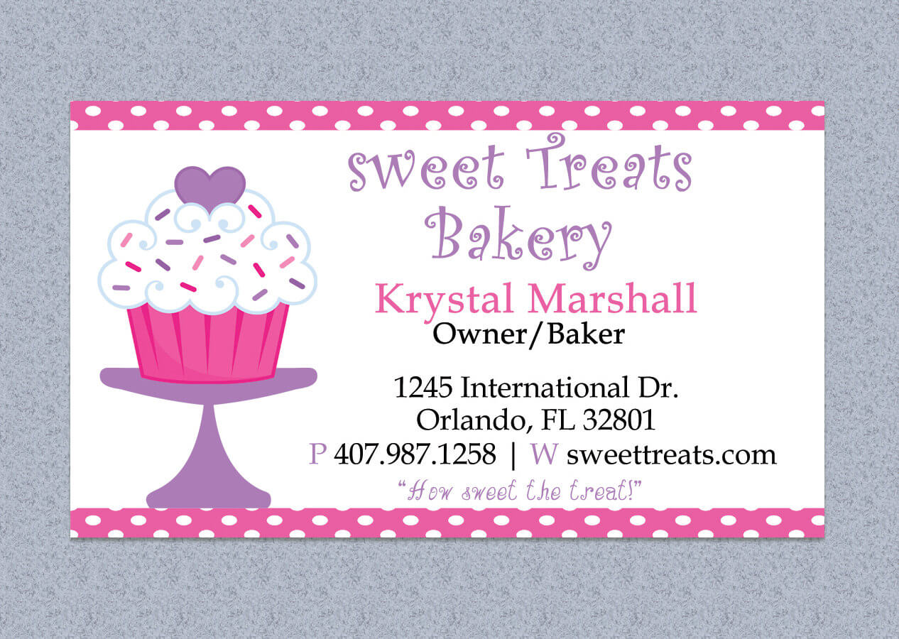 Bakery Business Card Template Free – 28 Images – Cake Within Cake Business Cards Templates Free