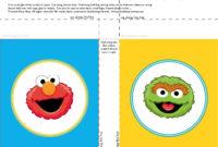 Banner-Squares-Elmo-Oscar-Sesame-Street-Printablepartyshop pertaining to Sesame Street Banner Template