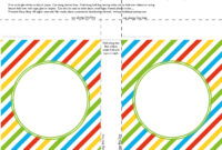 Banner Squares Stripes Sesame Street Printablepartyshop For Staples Banner Template