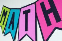 Banner Template {All Caps} | Classroom Banner, Banner in Classroom Banner Template