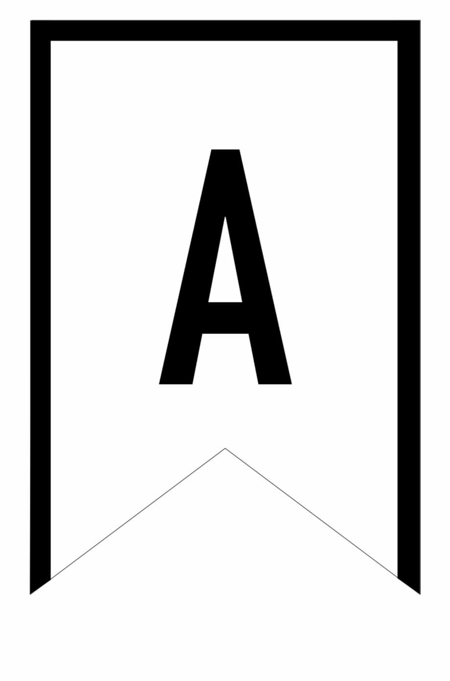 Banner Templates Free Printable Abc Letters - Printable Throughout Free Letter Templates For Banners