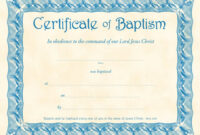 Baptism Certificate Template Publisher – Zimer.bwong.co intended for Baby Christening Certificate Template