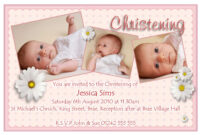 Baptism Invitation : Baptism Invitation Template – Superb in Baptism Invitation Card Template
