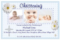 Baptism Invitation Card : Baptism Invitation Card Maker Free pertaining to Christening Banner Template Free