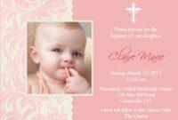 Baptism Invitation Card : Baptism Invitation Card Templates inside Free Christening Invitation Cards Templates