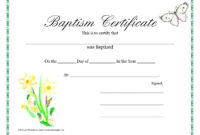 Baptism Invitation : Printable Baptism Invitations – Free inside Christian Baptism Certificate Template