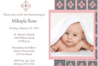 Baptism Invitation Template : Baptism Invitation Card intended for Baptism Invitation Card Template
